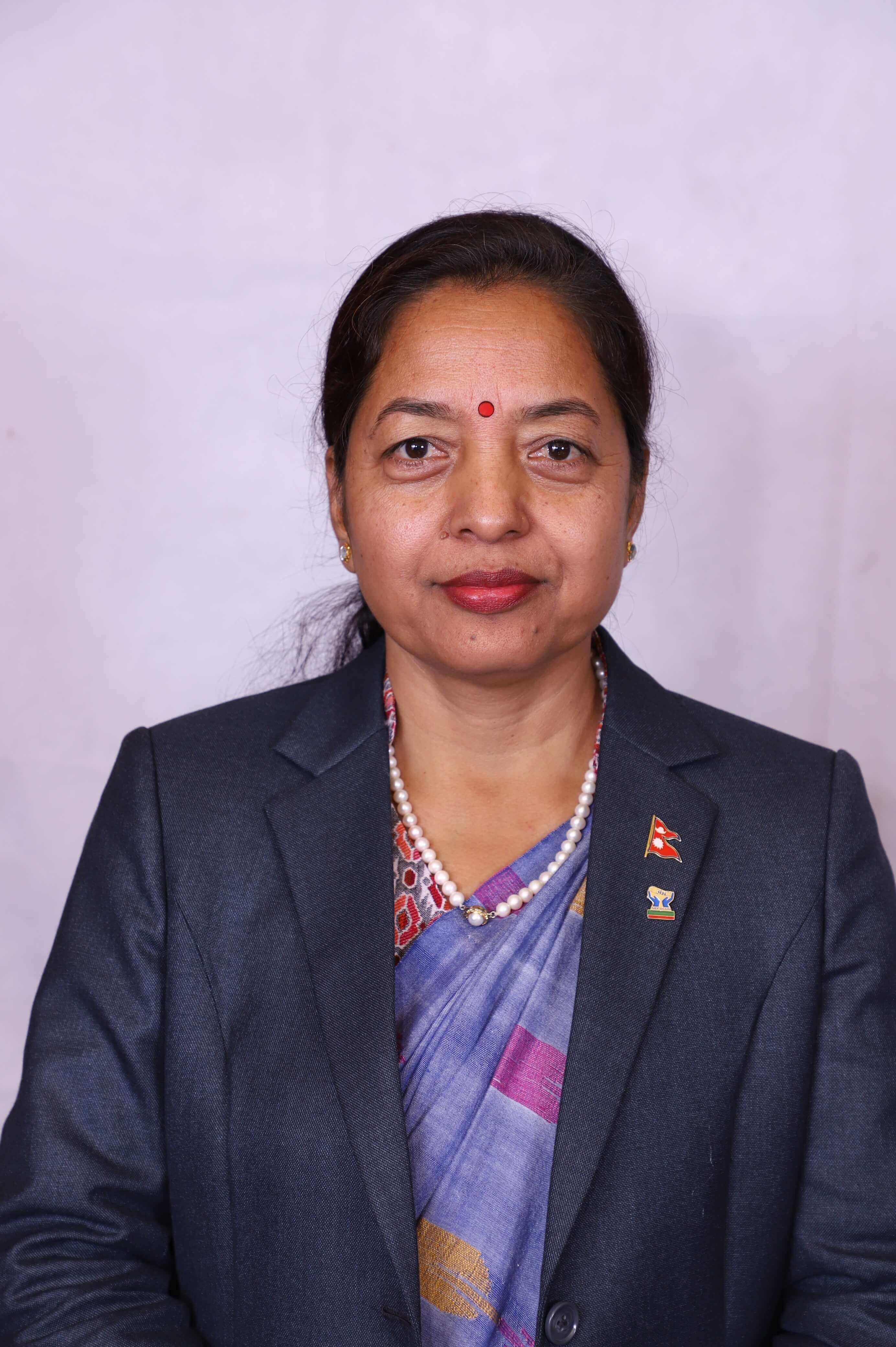 Ms. Shanti Adhikari